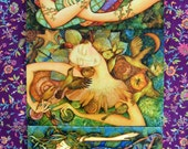 THREE Holly Sierra Art Cards - You CHOOSE Contents - A Group Of Fine Art Greeting Cards