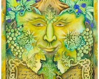 The Celtic Green Man - The Bard Of The Wild Wood