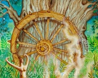 The Wheel - Tarot Wheel Of Fortune