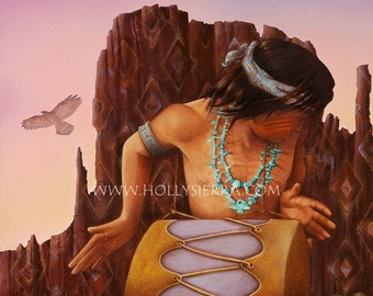 Canyon Song - A Fine Art Greeting Card