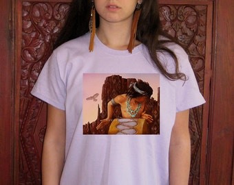 Canyon Song T- SHIRT - Woman's Fine Art Transfer T-Shirt - XS S M L XL 2XL 3XL - Many Image and Color Choices