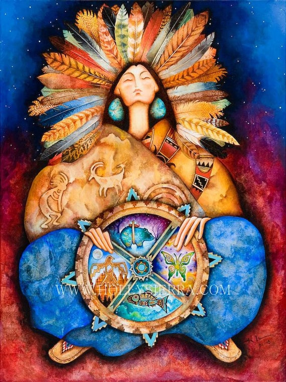 Nahimana - Native Goddess Of The Medicine Wheel