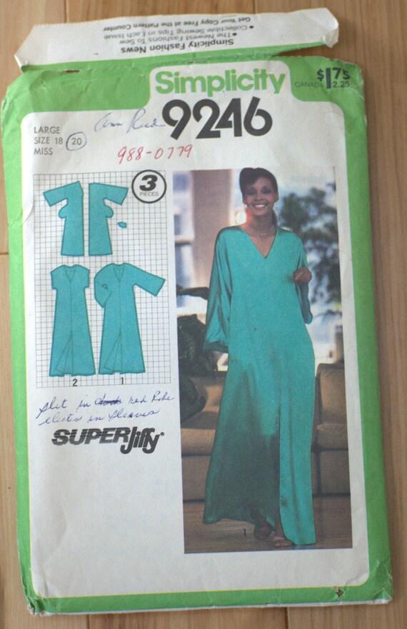 Vintage Simplicity Super Jiffy Pullover 9246