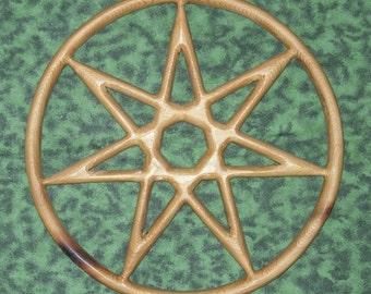 Fairy Star of Enchantment-Wiccan Feri-Elven Star-Kabbalah Sphere of Netzach