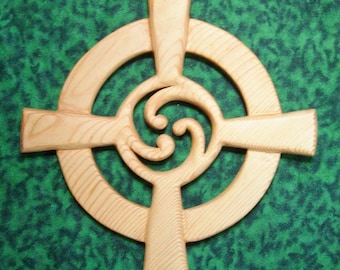 Celtic Wheel Cross Straight Arm Variation-Triskelion-Eternal Connections