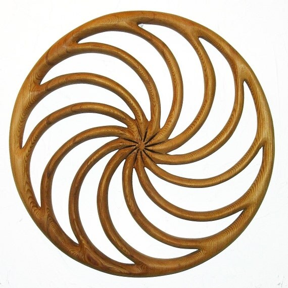 Celtic Calendar Wood : Wheel of the year wood carved spiral calendar