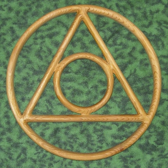 Symbol for Al-Anon Alateen 12 Step Program-Alchemy Symbol of Transformation