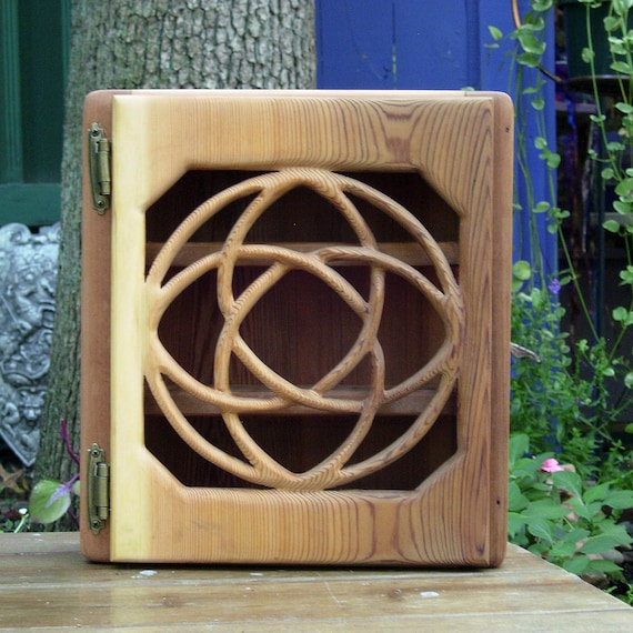 Celtic Knot of Healing Relationship Cabinet-Holistic Balance, Wellness and Healthy Living