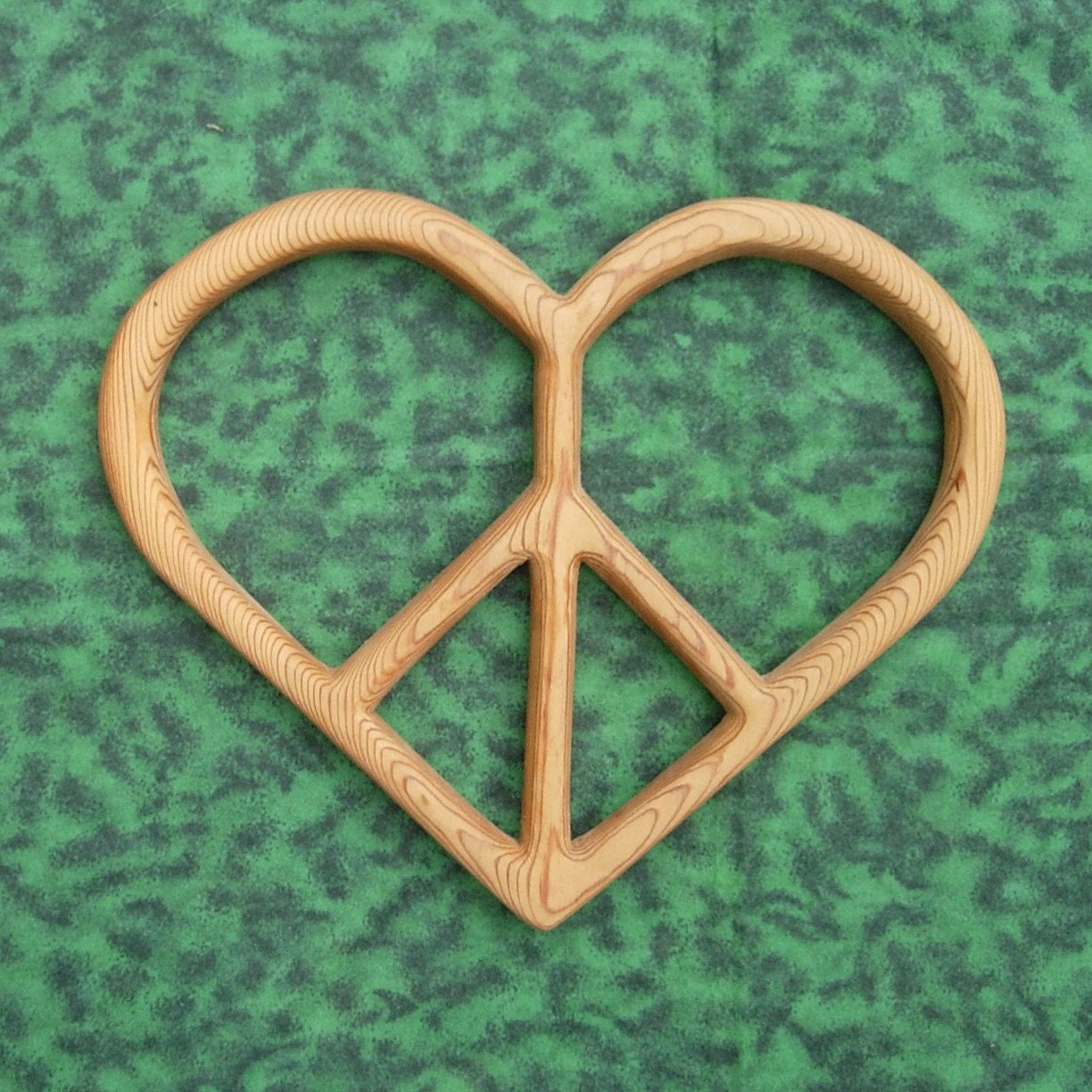 Peace and love heart shaped peace sign zoom biocorpaavc