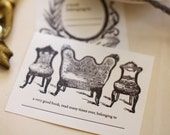 a very good bookplate, set of 4 ON SALE!