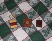 Wooden christmas ornaments Multi wood  005 FREE SHIPPING