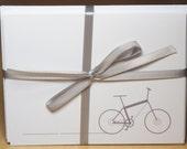 6 Bike blank cards