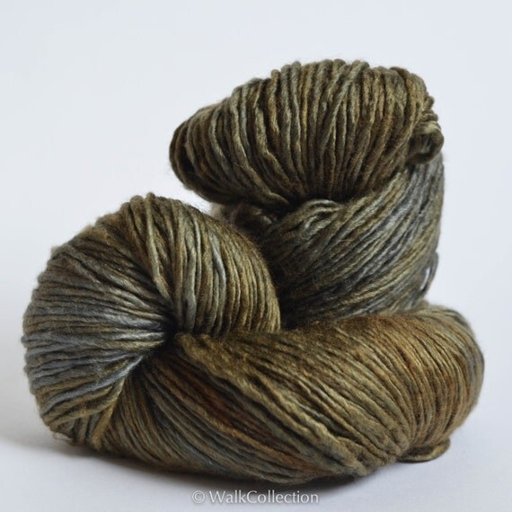PATINA ... Precious - Worsted weight, hand-dyed yarn
