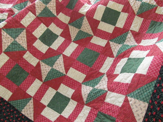 Christmas Dash Quilt PDF Pattern from Quilt Doodle Designs