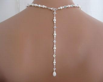wedding jewelry bridal backdrop necklace bridal jewelry
