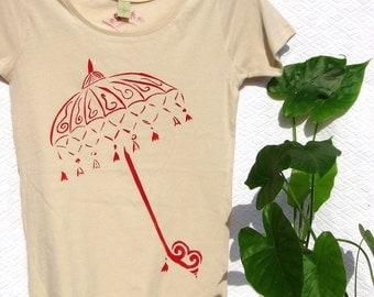 Bali Parasol Organic Cotton Tee
