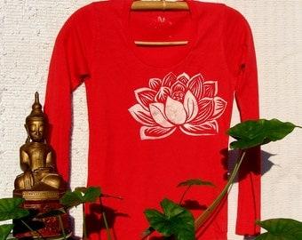 Indian Lotus Cotton Long Sleeve