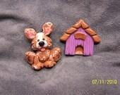 Puppy Magnet Set
