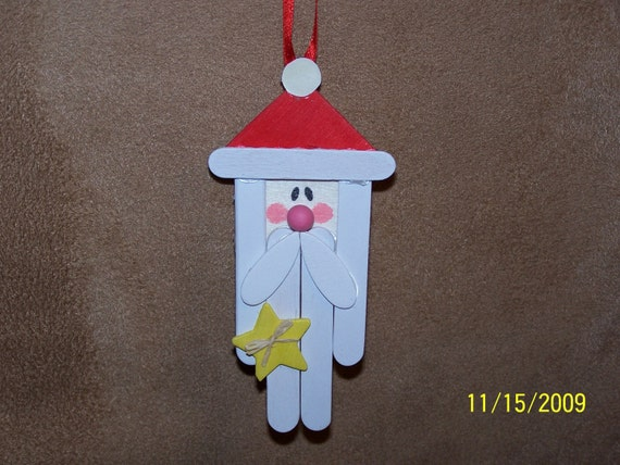 SALE!  Santa Ornament
