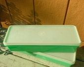 SUMMER SALE - Vintage Tupperware Containers Celery Keepers