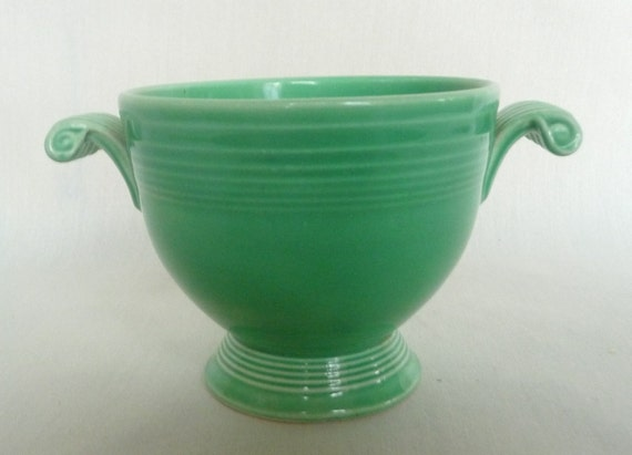 Fiesta Fiestaware Sugar Bowl Original Green