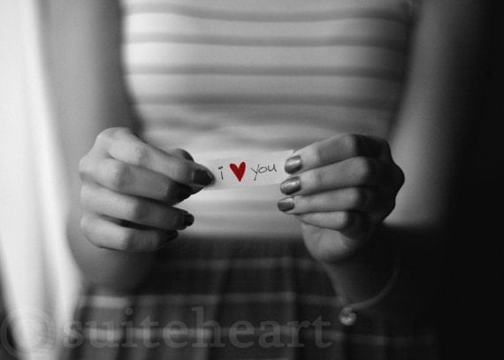 Items similar to i love you photography art black white - Black and white love pictures ...