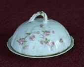 Theodore Haviland China Butter Dish - Limoges, France - 1890s