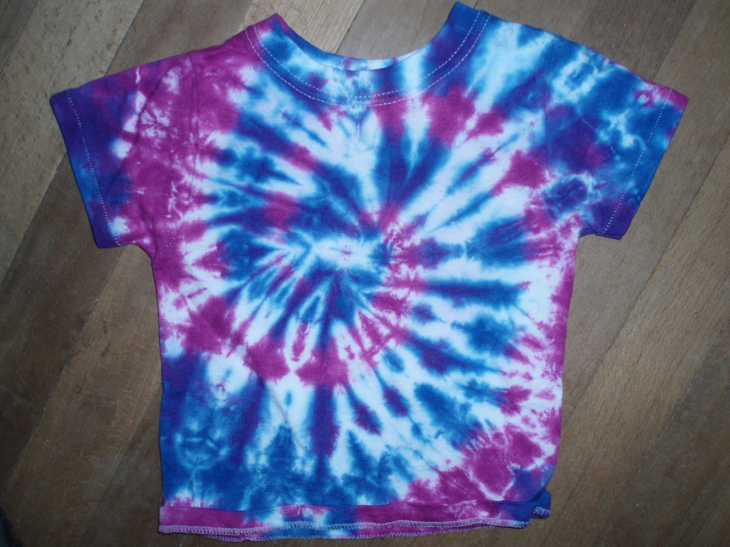 Tie Dye Toddler Tshirt Hippie Kids Clothing 12 month by selfex