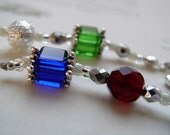 Mothers Day BIRTHSTONE BOOKMARK for Grandma - Beaded Book Thong Keepsake with a Bead Color to Represent Each Child and Grandchild