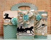 Best Wishes for a Happy Holday - Handmade Card Gift Set