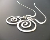 Old World Small Swirls in Argentium Silver
