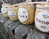 Wheel-Thrown Honey Pots