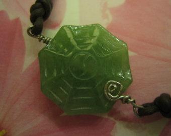 Natural Jade EIGHT DIAGRAMS Bracelet