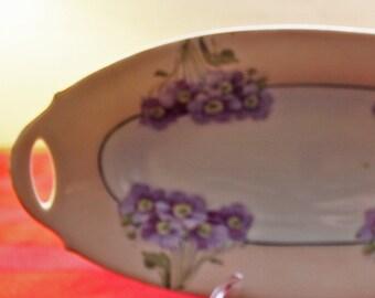 Oval Porcelain Dish