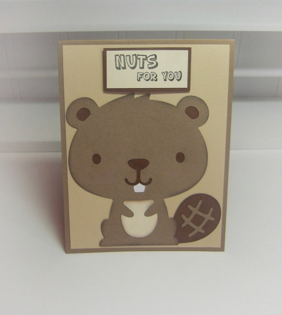 Nuts for You- Card with Envelope