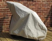 Buggy Bonnet Stroller Cover in Taupe, Size: Double