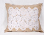 Hand Embroidered Hungarian Traditional Pillow Case