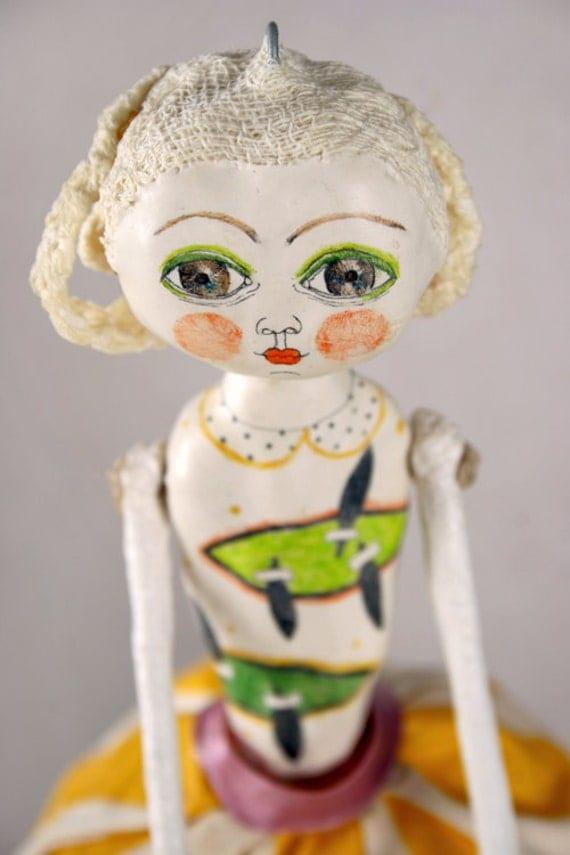 Clay Art Doll - Scarlett - SALE