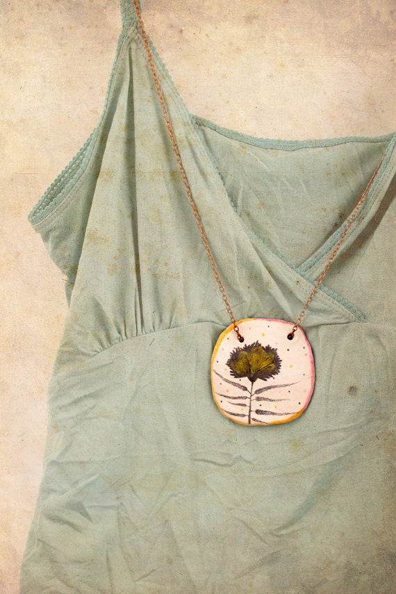 Necklace - Spring Is In My Heart - OOAK