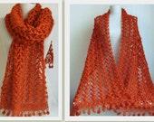 Crochet shawl -wedding bridal shawl-