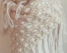 bridal shawl crochet Wedding Shawl  crochet bridal shawl crochet shawls for sale  Ivory Shawl Ivory Bridal Shawl
