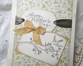 Handmade Card Happy Mothers Day