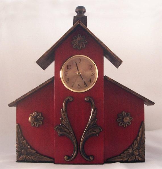 Birdhouse Clock