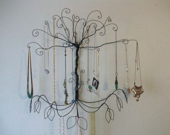 Jewelry Tree Display  Wire Colossal Wall Mount  All Necklaces PRE ORDER