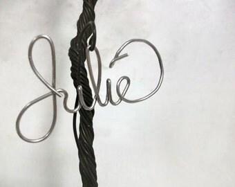 Add a Custom wire name to a Jewelry Display Tree