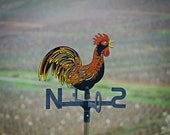 Rooster Weather Vane 5x7 Photograph, French-Style Weathervane, Travel Photography, French Countryside Fine Art Photo