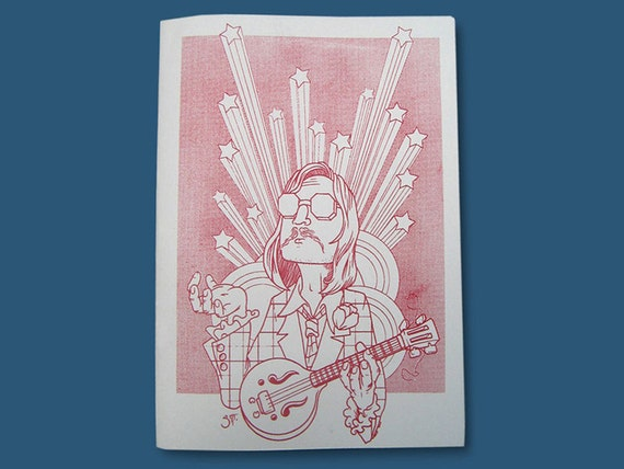 The Music One illustrated zine