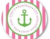 Ahoy Mate Address Label Stickers - Custom Address Labels