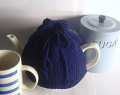 Navy Blue Tea Cosy - Made to Order