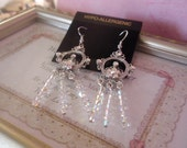 Swarovski Crystal Clear AB Earrings